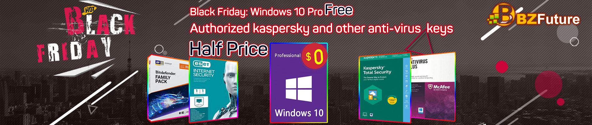 BZFUTURE Sale windows 10 pro oem free