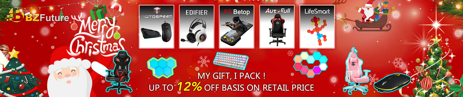 bzfuture gaming setups christmas sale